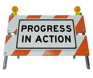 Progress in Action - Road Barricade Improvement and Change for F
